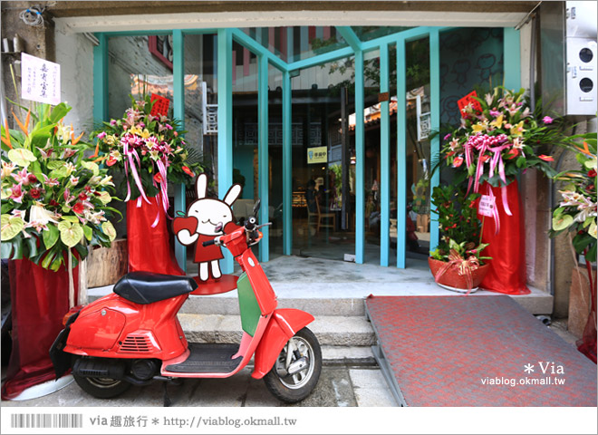 【阿朗基咖啡】台南店開幕囉!台南老屋餐廳推薦~老屋改造+可愛療癒系的新餐廳2