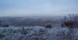 Icy Panorama of Ramaća