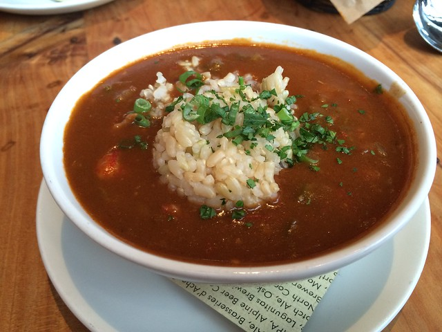 Crawfish etouffee - Boxing Room