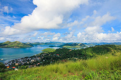 Coron Town as viewed from Mount Tapyas