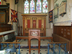 Royal Fusiliers memorial chapel