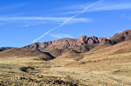 Montagnes près du désert du Namib
