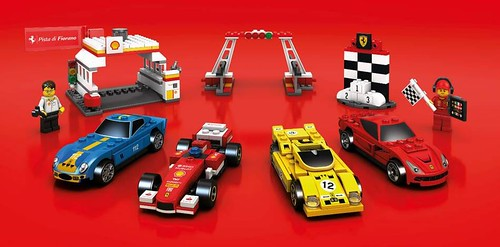The new Shell V-Power LEGO Collection 2