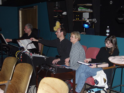 Brad Weage, David Carter, Cyd Hoskinson, and Tracy Wilson make up the tech crew for this show.