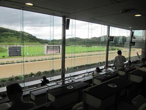佐賀競馬場の指定席の座席