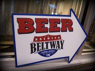 This way to Beltway beer