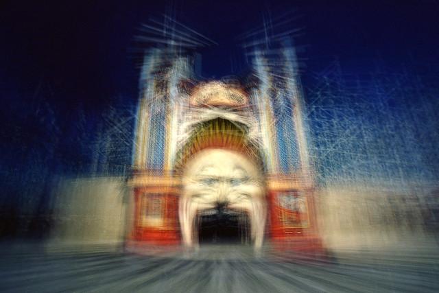 Luna Park, St Kilda, Canon EOS 3