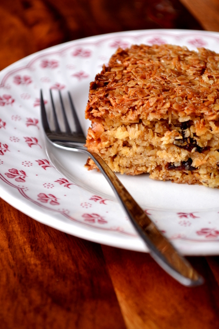 Coconut Flapjacks Recipe