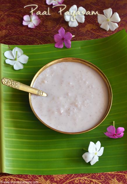 Kerala Paal Payasam Recipe