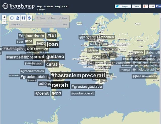 Trendsmap Cerati