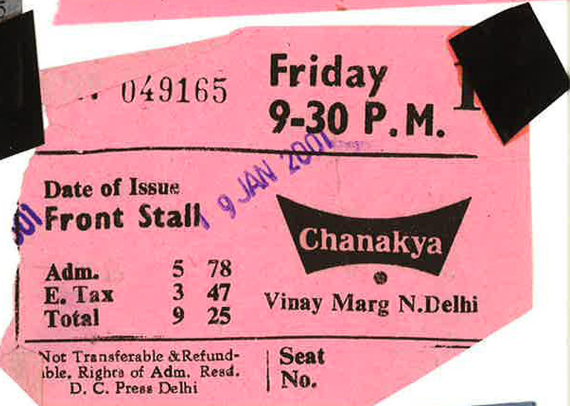 photo essay movie tickets old extinct cinemas the delhi walla photo essay movie tickets old extinct cinemas