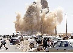 طائرات مجهولة الهوية تقصف العاصمة الليبية طرابلس