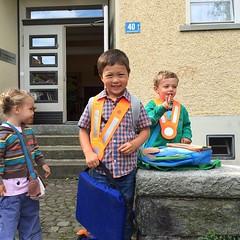 First Day in Kindergarden!
