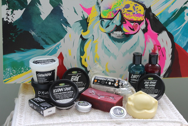 LUSH Christmas Box Set