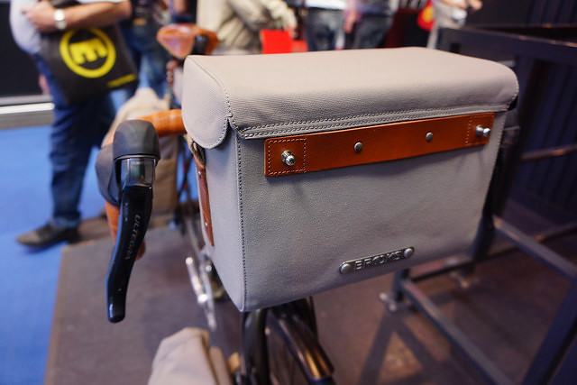 Brooks Handlebar Bag Eurobike 2014