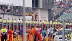 F1 Grand Prix: Fernado and the Champagne!!