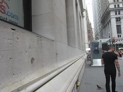 Wall Street Bombing Scars