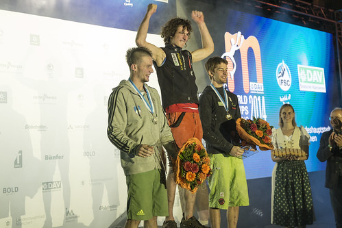 Final of the IFSC Boulder World Championship 2014