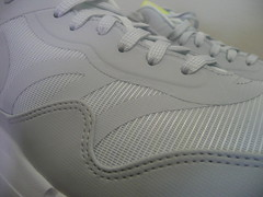 Nike Air Max 1 Premium Tape Glow in the Dark (WhiteGeyser Grey-Lab Green) Size 11.5 (599514-103)