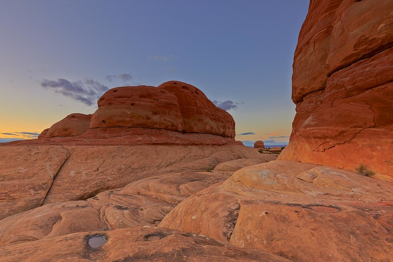 Glowing Stones - Canyonlands National Park