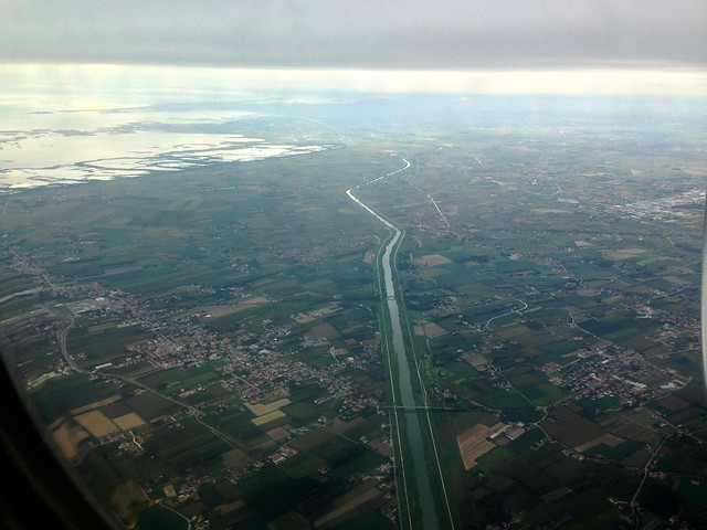 Canal to the Veneto Lagoon