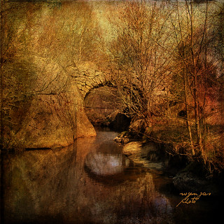 old stone bridge..