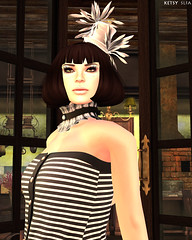 Earning My Stripes (New Post @ Second Life Fashion Addict)
