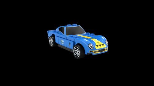 LEGO Shell Ferrari 250 GTO