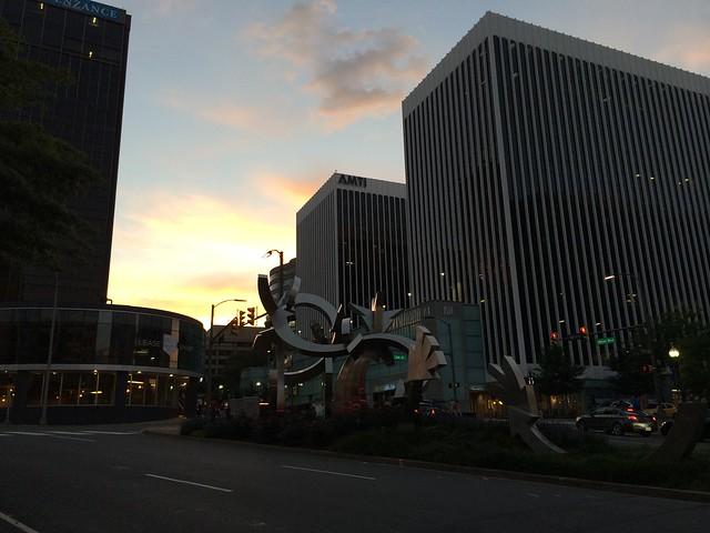 Arlington sunset