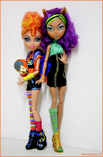 Howleen Wolf And Clawdeen Wolf Flickr Photo Sharing