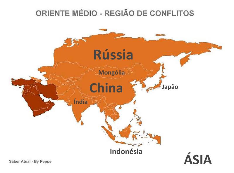 Oriente Médio. Uma Região de Conflitos.