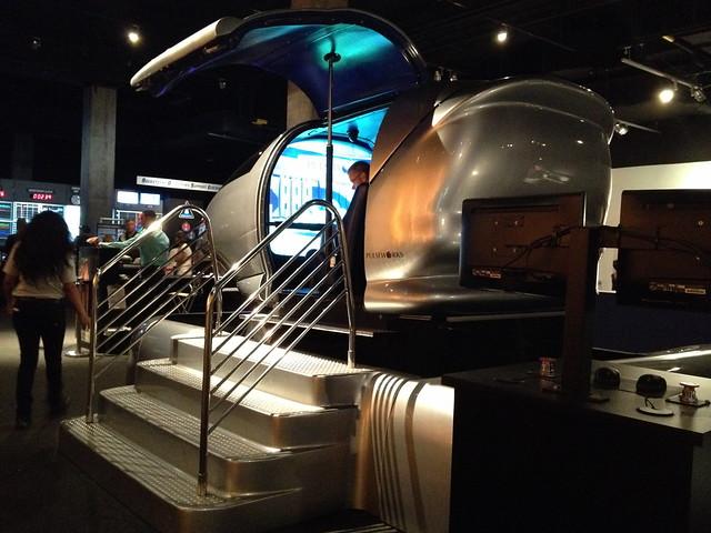 space shuttle simulator ride - photo #5