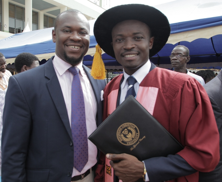 Dr. Sackey and brother, Harry Sackey