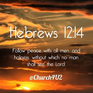 거룩함에 관한 성경구절 2 (신약)
