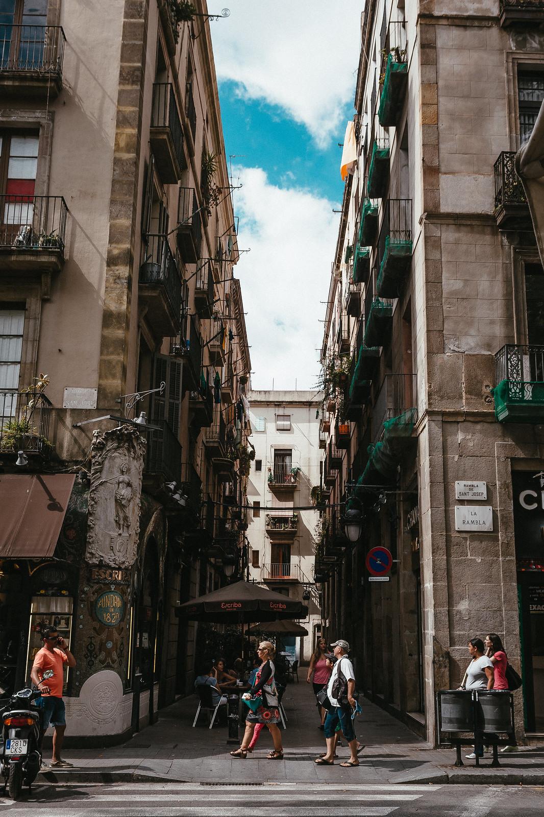 Barcelona in a glimpse