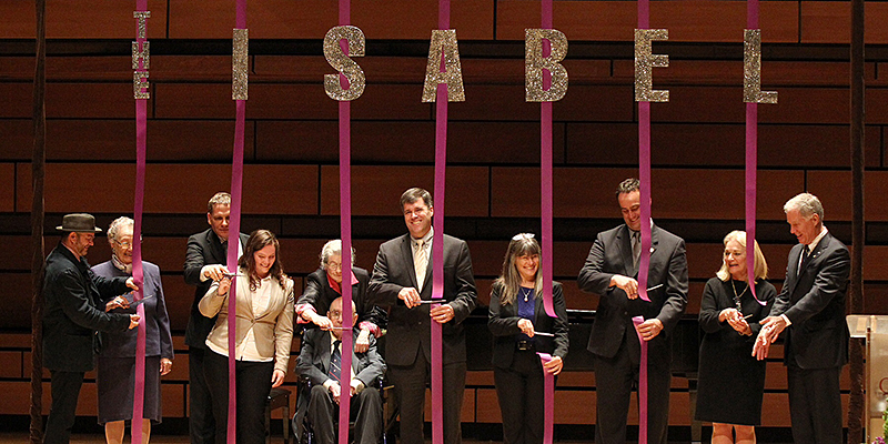 The Isabel Bader Centre for the Performing Arts is now officially open!