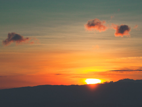 sunset canon twilight taiwan 夕陽 九份