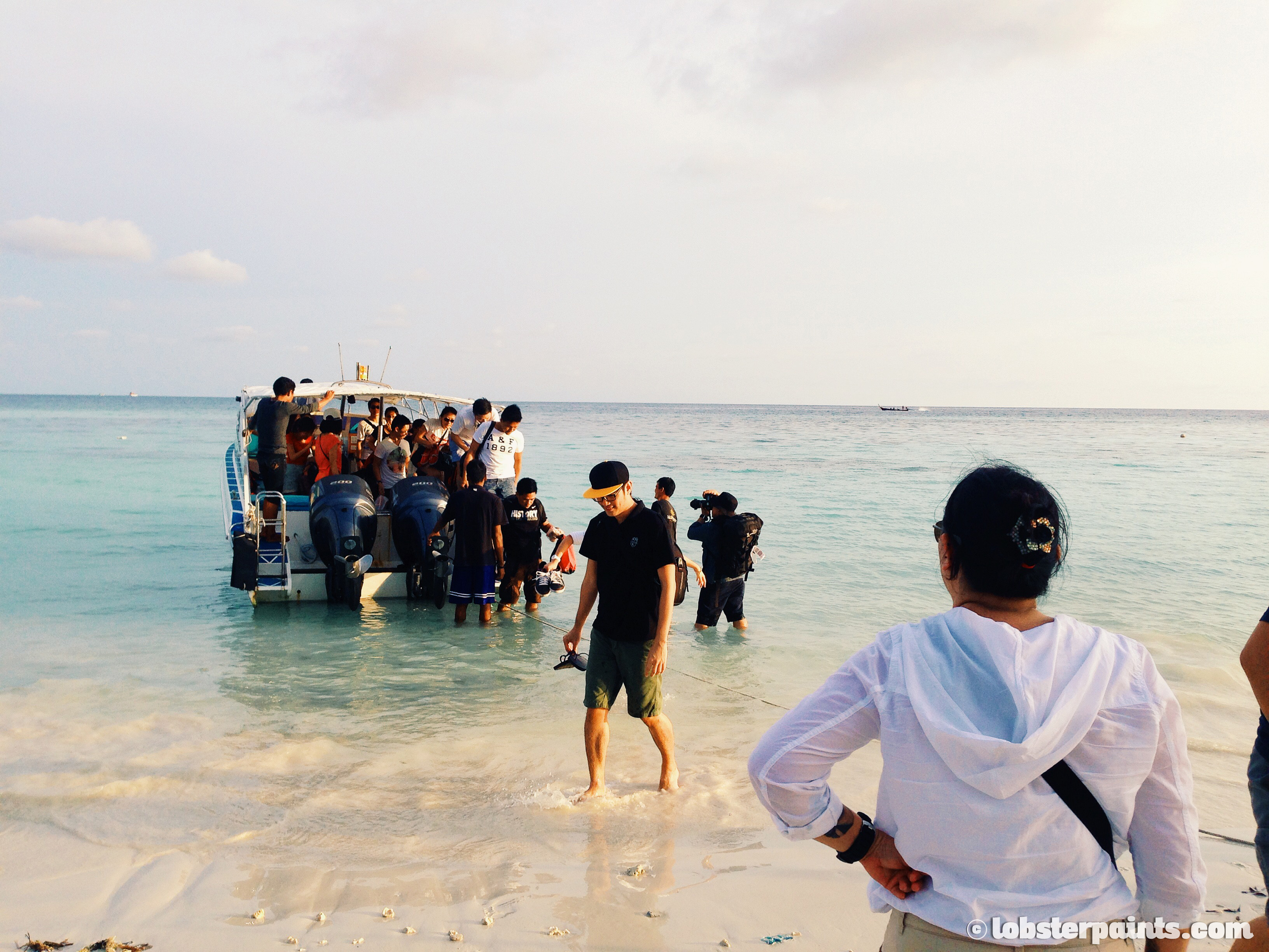 Arriving at Pattaya Beach | Koh Lipe, Thailand