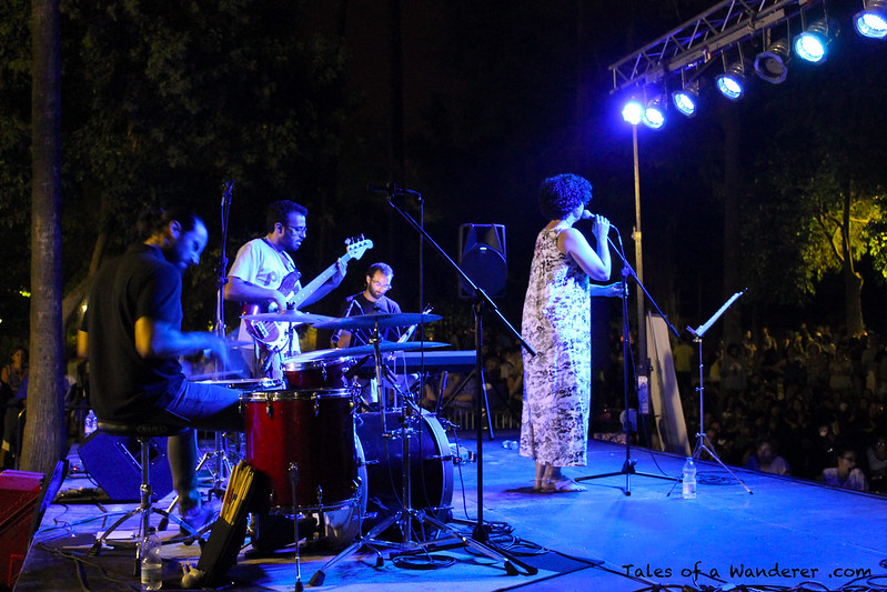 SEVILLA - Parque de María Luisa - (2º Jazz in Green - Nat'n Jazz)