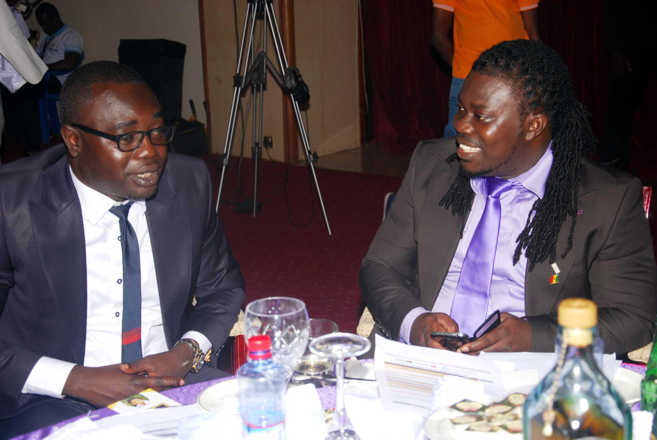 Chairman Afari and Obour