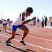 Inauguración de pista de atletismo. por Guillermo Padrés Elías