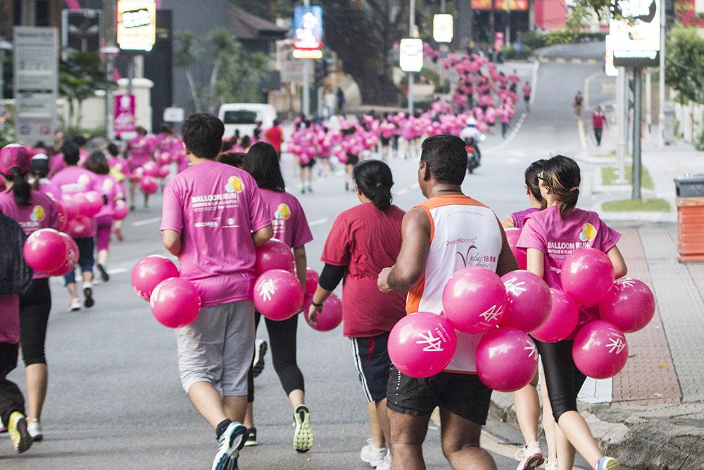 Avenue K's Balloon Run