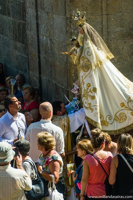 Misa y procesión de la Virgen