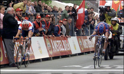 Amstel '99 - Boogerd (sin) batte Armstrong