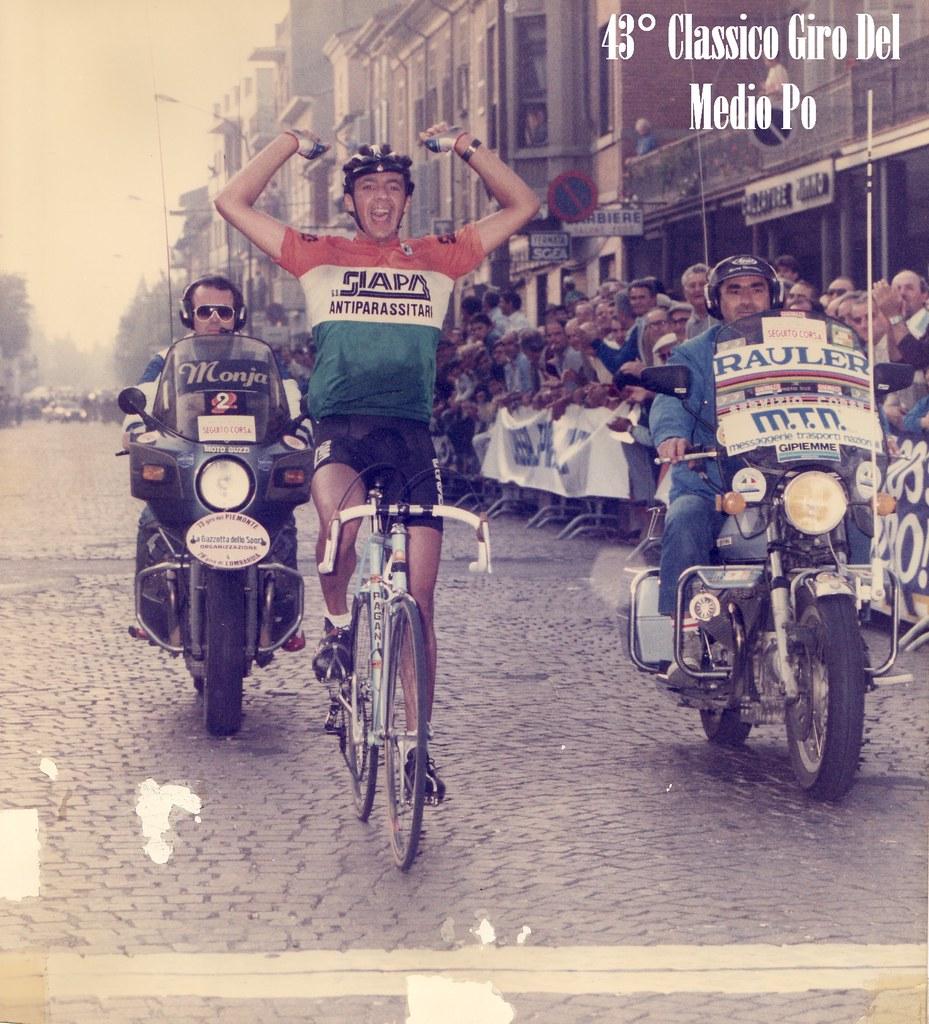 Vittoria nel Classico Giro del Medio Po 1985