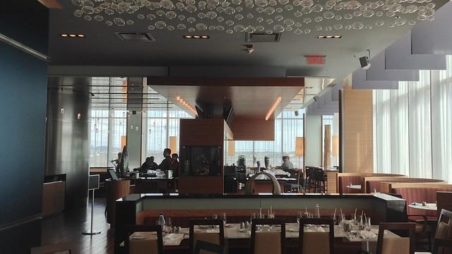 Montreal Airport Marriott Lounge