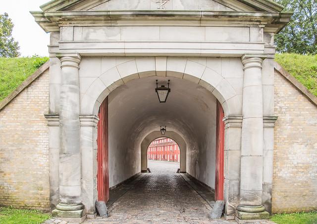 Norway Gate, Kastellet