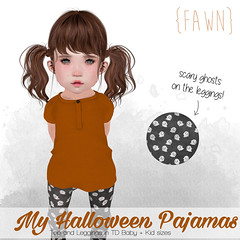 {fawn} My Halloween Pajamas