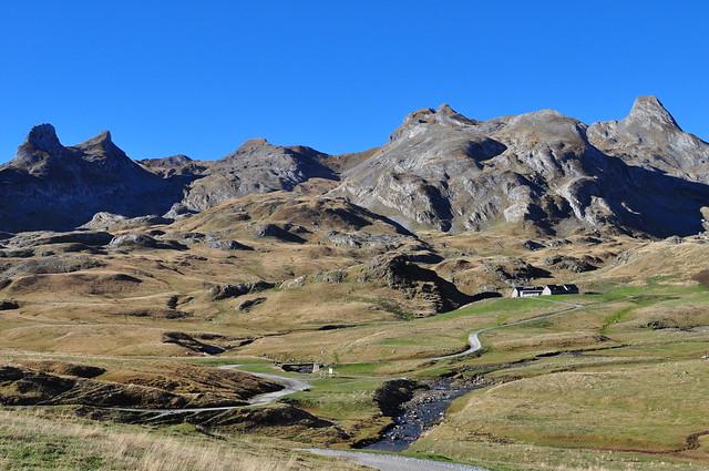 Cirque d'Anéou, col du Pourtalet, haute vallée d'Ossau, Béarn, Pyrénées Atlantiques, Aquitaine.
