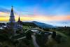 Twin pagoda